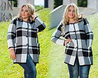 Весеннее пальто больших размеров