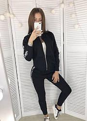 Костюм спортивный Fendi чёрный