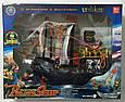 Детский игровой Пиратский корабль 50828D в комплекте с фигурками пиратов и аксессуарами, фото 3