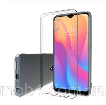 Ультратонкий чехол для Xiaomi (Ксиоми) Redmi 8A прозрачный