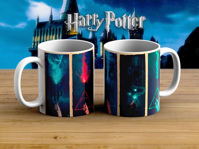 Кружка Гарри Поттер Дары смерти