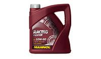 Моторное синтетическое масло MANNOL Racing+Ester 10W-60 4л.