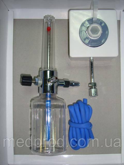 Увлажнитель кислорода Y002 для кислородной магистрали с настенным газовым клапаном