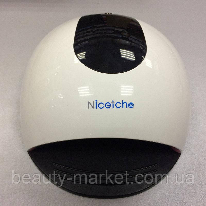 Лампа для маникюра NICETCH LED+UV, 72W