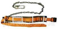 Пояс запобіжний монтажний страхувальний ПБ(М) з ланцюговим стропом |