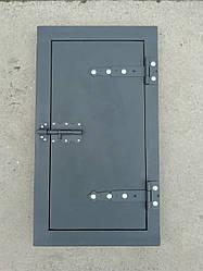 Дверка для коптильни чугунная 720*400 мм