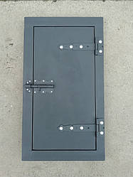 Дверцята для коптильні чавунна 720*400 мм