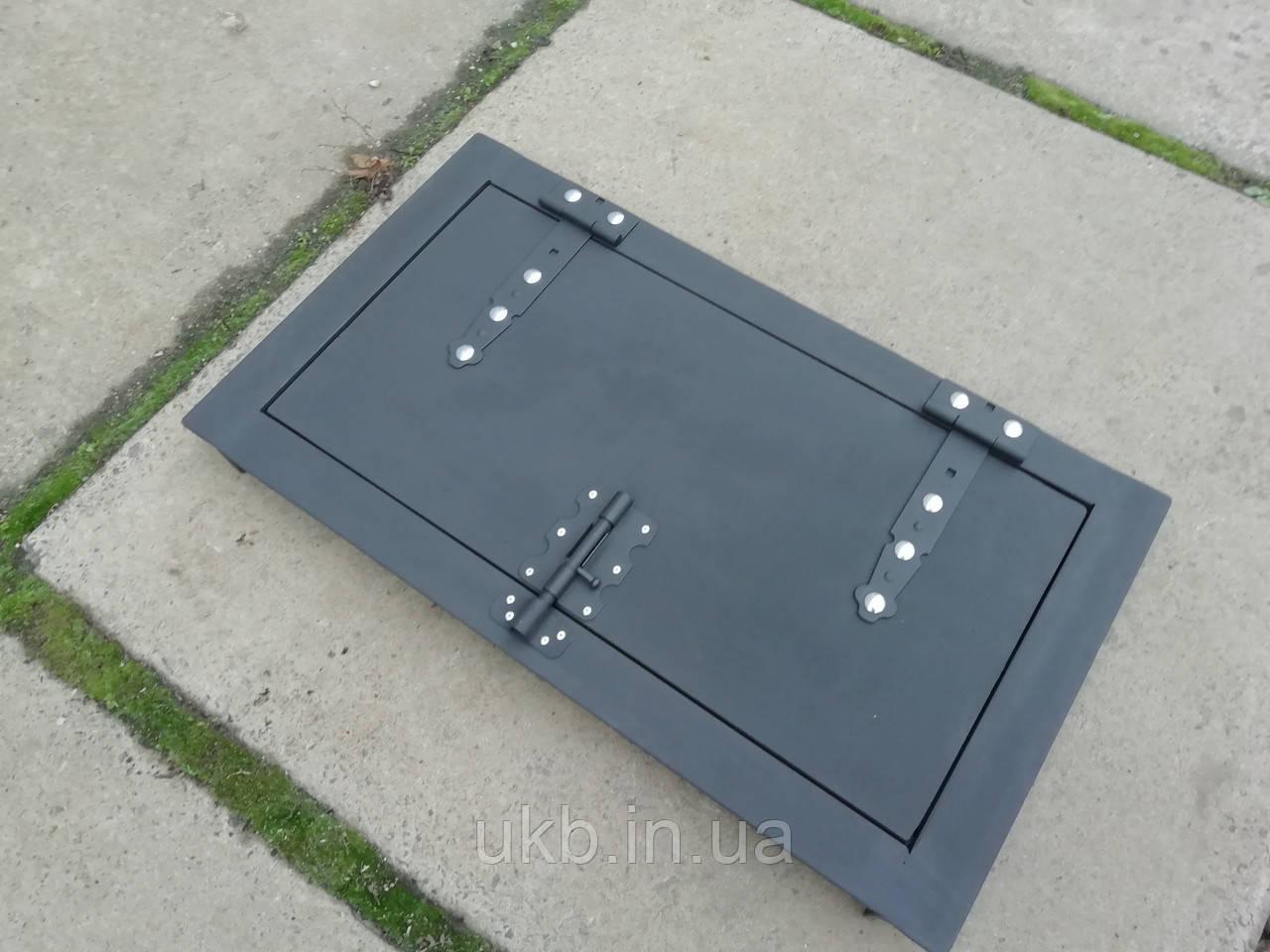 Дверка для коптильни чугунная 700*400 мм