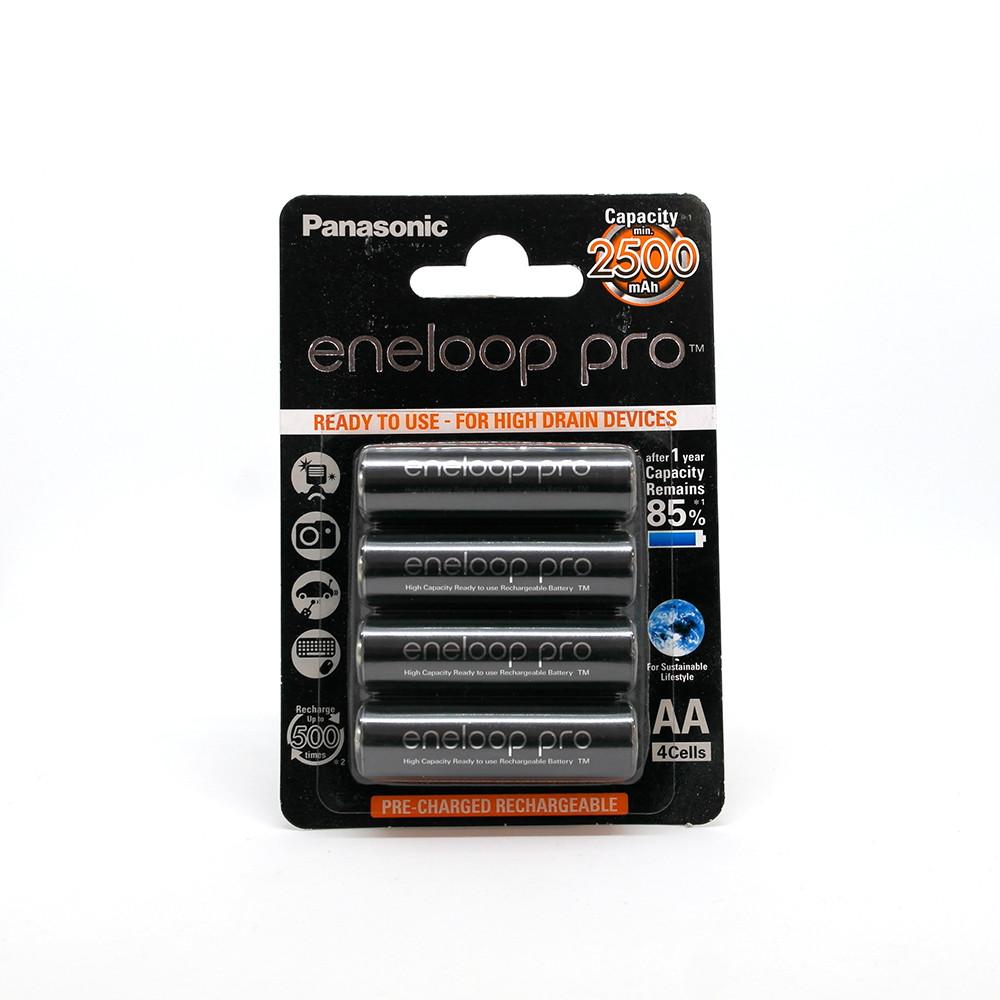 Аккумулятор Panasonic Eneloop Pro BK-3HCDE 2600 мАч блистер 4 шт