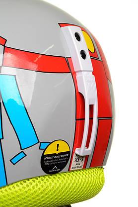 Шолом гірськолижний Shred Brain Bucket XS/S Robot, фото 3