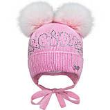 Зимняя шапка для девочки, David's Star 1914 ,  от 6 до 9 месяцев, фото 2