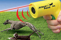 Ультразвуковой отпугиватель от собак с лазером Scram Patrol 0027 (2784)