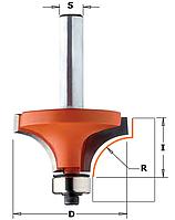 Фреза кромочная калёвочная (радиусная) CMT 76,2х38,1х28,6мм хв.12мм (арт .938.993.11) , фото 1