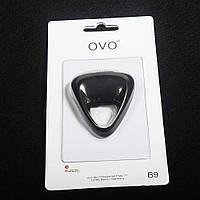 Виброкольцо OVO B9 черное