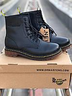 Зимние женские ботинки Dr Martens 1460 White (доктор Мартинс на меху)