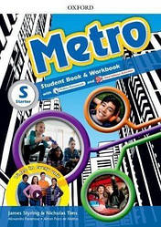 Metro Starter Student's Book and Workbook Pack with Online Homework