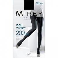 Колготы теплые «Lady Winter» 200 Den, размер 5, Mirey Navy Мирей Темно-синий