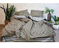 Постельное белье Спокойный сон, ранфорс, евро размер