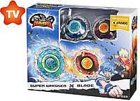 Волчок Auldey Infinity Nado Стандарт баттл Super Whisker & Blade Небесний Вихор + Клинок (YW624313)