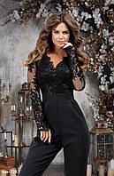 Женский стильный нарядный комбинезон Разные цвета
