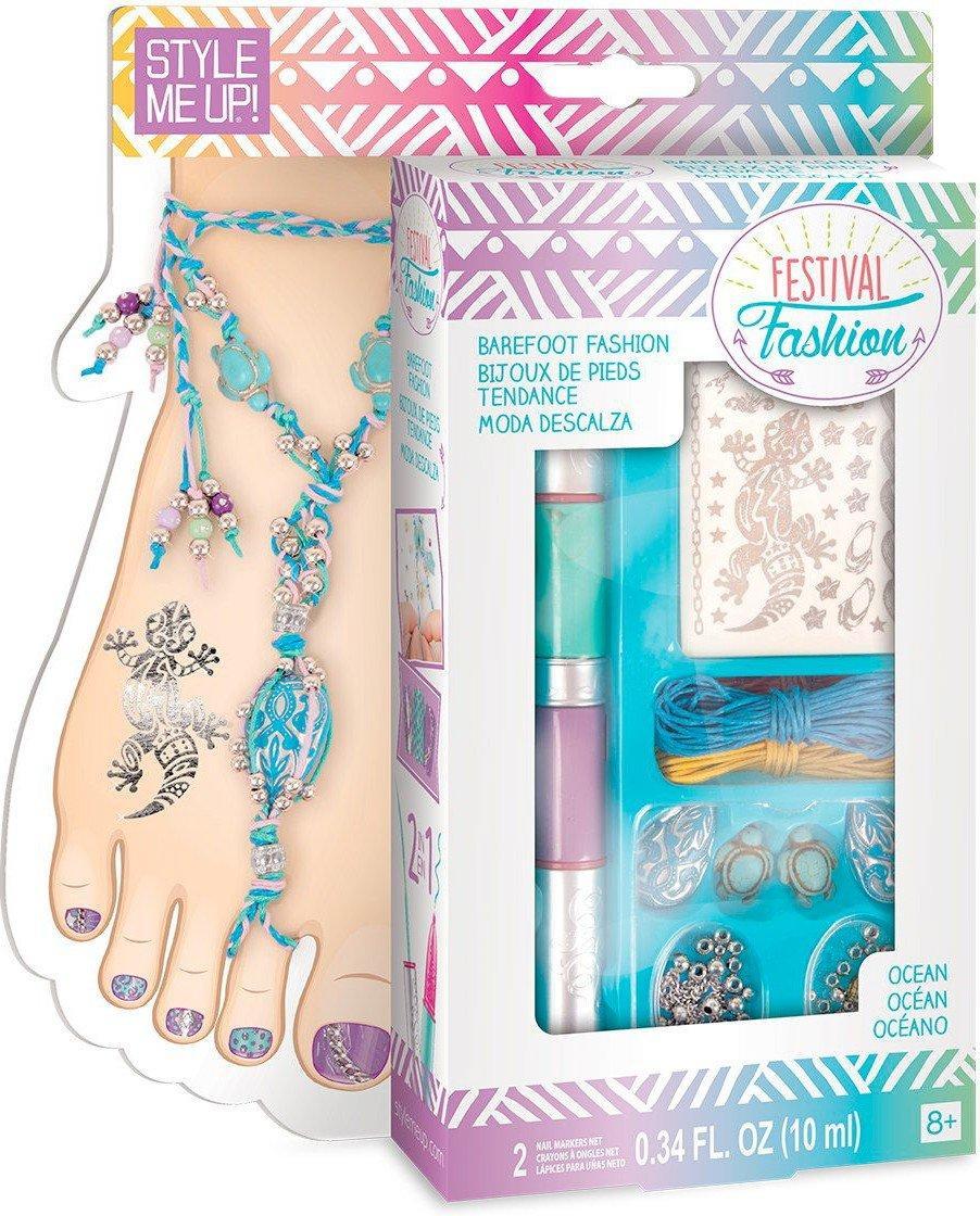 Набор для изготовления браслетов и татуировок для ног Ocean. Wooky 00341