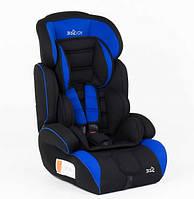 Детское автокресло JOY  (9-36 кг) черное с синим