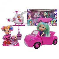 Игровой набор автомобиль с куклой и аксессуарами 39,5*16*21,5 см (24 шт/ящ) HC263718