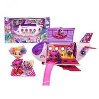 Игровой набор автобус с куклой и  аксессуарами 39,5*16*21,5 (24 шт/ящ) HC263720