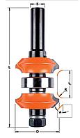 Фреза кромочная калёвочная регулируемая CMT 34х11,1-31,75х3-2х45 мм хв.12мм (арт.900.622.11)