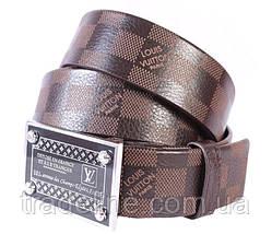 Мужской ремень в стиле Louis Vuitton 301111 Коричневый, фото 3