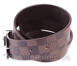 Мужской ремень в стиле Louis Vuitton 301111 Коричневый, фото 2