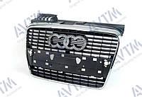 Решетка радиатора Audi A4 2005-2008 хром/черн. ABS 181205990 8E0853651J1QP