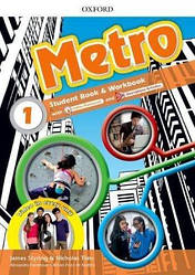 Metro 1 Student's Book and Workbook Pack with Online Homework