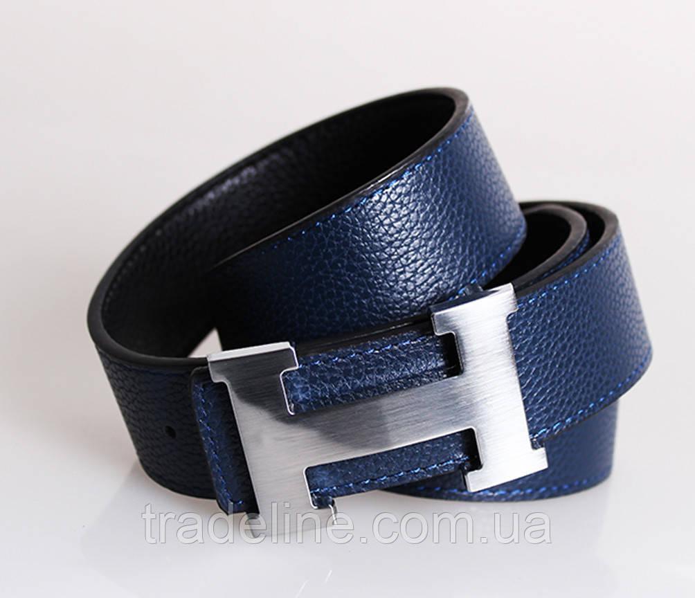 Мужской ремень двухсторонний NW682499-13 115 см Черный-Синий