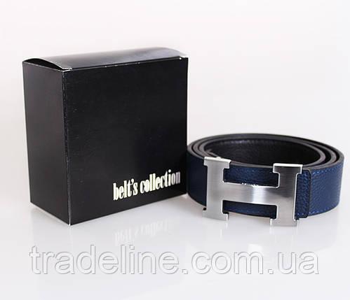 Мужской ремень двухсторонний NW682499-13 115 см Черный-Синий, фото 2