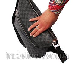 Мужская сумка для документов LV300204 Серая, фото 3