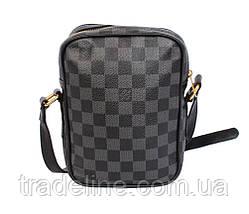 Мужская сумка Louis Vuitton 30-203LV Серая, фото 3