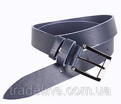Мужской кожаный ремень Dovhani LD666-77 115-125 см Синий, фото 2