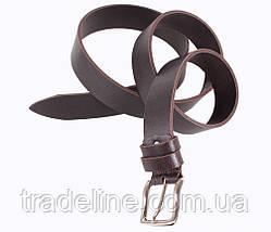 Мужской кожаный ремень Dovhani SP999-1А 115-125 см Коричневый, фото 3