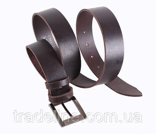 Мужской кожаный ремень Dovhani SP999-55 115-125 см Коричневый, фото 2