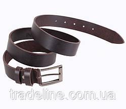 Мужской кожаный ремень Dovhani SP999-55 115-125 см Коричневый, фото 3