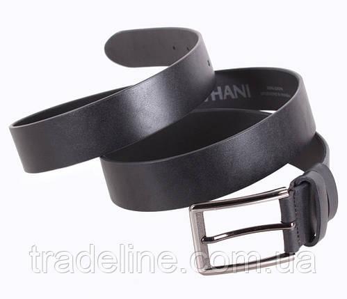 Мужской кожаный ремень Dovhani UK888-99 115-125 см Черный, фото 2