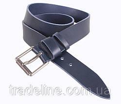 Мужской кожаный ремень Dovhani LD666-244 115-125 см Синий, фото 3