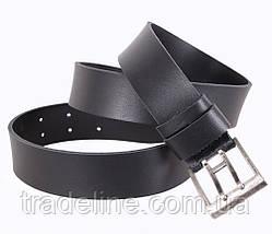 Мужской кожаный ремень Dovhani SP999-125 115-125 см Черный, фото 3