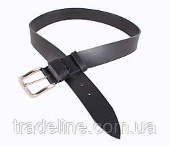Мужской кожаный ремень Dovhani SP999-158 115-125 см Черный, фото 2