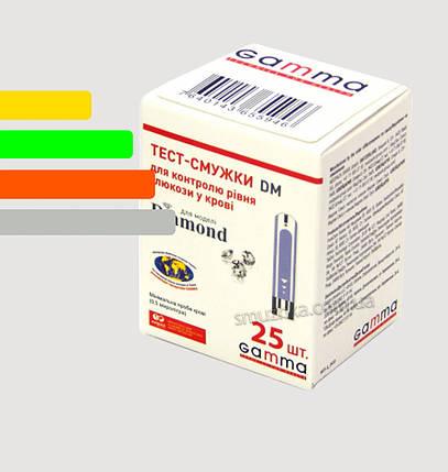 Тест полоски  Гамма ДМ #25 - Gamma Diamond 25шт., фото 2