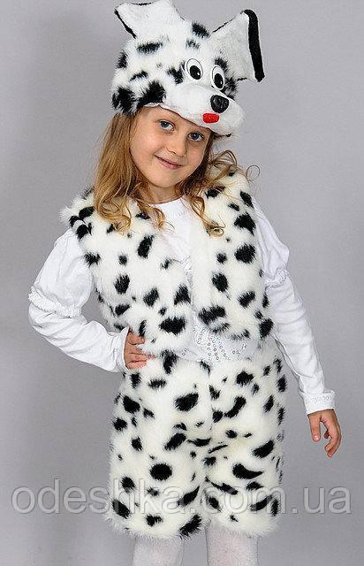 Дитячий карнавальний костюм Собачки долматинца