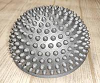 Балансировочная полусфера D=16см, h=9см (1 шт.) Серебристо - Серый, фото 1