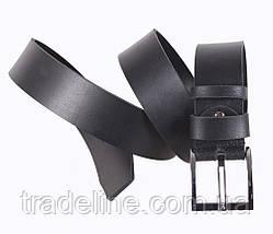 Мужской кожаный ремень Dovhani SP999-211 115-125 см Черный, фото 2