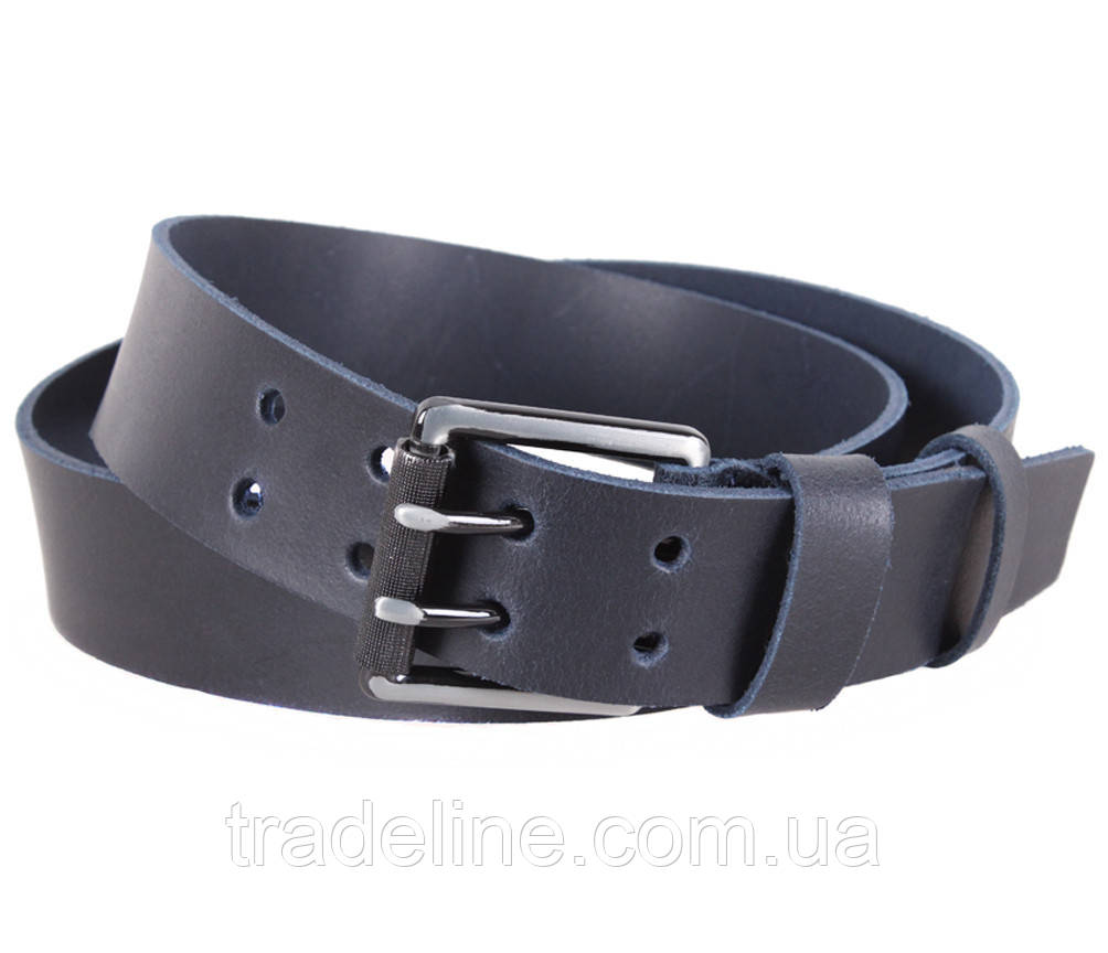 Мужской кожаный ремень Dovhani SP999-255 115-125 см Синий